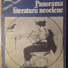 PANORAMA LITERATURII NEOELENE - ELENA LAZAR