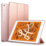 Husa de Protectie ESR Yippee pentru Apple iPad Mini 5 2019 Functii Stand & Smart Sleep Rose Gold