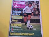 "Revista sport-fotbal ""Fußball-Woche Germania (08.05.1978)"