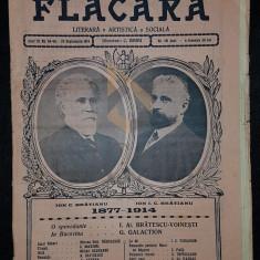 BANU C. (Director), FLACARA (Literara, Artistica si Sociala), Anul III, Numerele 48-49, 1914, Bucuresti