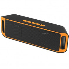 Boxa Portabila iUni DF02, Radio, Slot Card, Orange