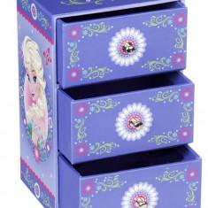 Cutie pentru bijuterii Elsa si Anna