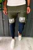 Pantaloni de trening pentru barbati - slim fit -trei culori- a6080
