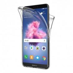 Husa Invizible 360 de grade (fata-spate ) pentru Huawei P Smart 2018 ,Silicon