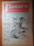 Flacara 10 februarie 1977-com. lisa brasov,interviu benone sinulescu,cornel dinu