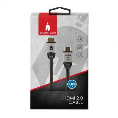 Cablu Spartan Gear Hdmi 2.0 Cable 1.8 M Gold Plated
