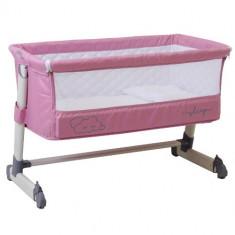 Cumpara ieftin Patut Co Sleeper Clouds Pink