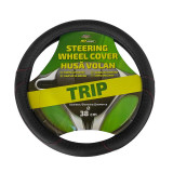 Husa volan Rogroup Trip din piele ecologica negru