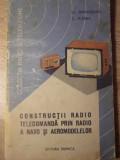 CONSTRUCTII RADIO TELECOMANDA PRIN RADIO A NAVO- SI AEROMODELELOR - ST. SPRINCEA
