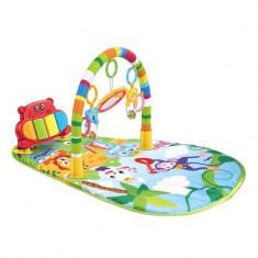 Covoras interactiv cu jucarii pentru bebelusi, 80x68x45, multicolor