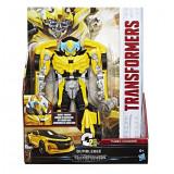 Figurina Transformers The Last Knight, Turbo Changer,Bumblebee, Hasbro