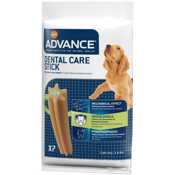 Recompense pentru caini Advance Dental Stick, 180g