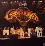 VINIL Commodores – Live!  DUBLU LP 2XLP VG+