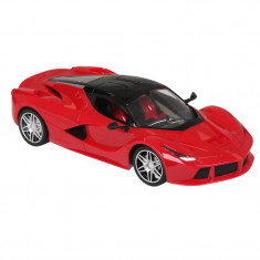 Masina de curse cu telecomanda tip volan, scara 1:16, rosu