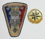 Cercetaș militar Emblema și insignă, Patch ecuson armata, Europa