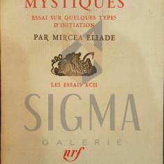 MIRCEA ELIADE - NAISSANCES MYSTIQUES - ESSAI SUR QUELQUES TYPES , 1967