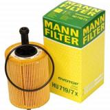 Set Filtre Mann + Ulei Castrol Edge Turbo Diesel Titanium 5W-40 5L Volkswagen