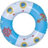 Cumpara ieftin Colac de inot ,model barca ,76 cm