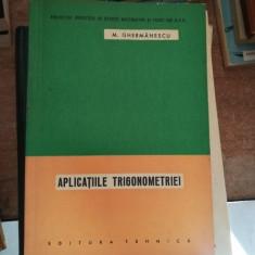 Aplicatiile trigonometriei – Ghermanescu