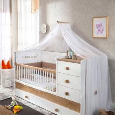 Baldachin Decorativ pentru patut, Natura Baby