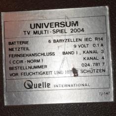 Cumpara ieftin Joc vechi de TV marca UNIVERSUM - nu stiu daca functioneaza