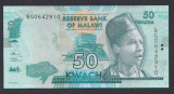 A3512 Malawi 50 kwacha 2017 UNC