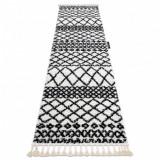 Covorul, Traversa BERBER SAFI alb - pentru bucătărie, hol și coridor, 70x300 cm