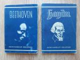 Kleine Humboldt Bibliothek Haydn Beethoven Viena 1947 limba germana lot 2 carte