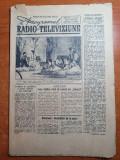revista programul radio si televiziune 21 mai 1959