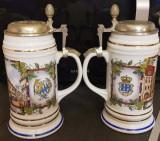 Doua halbe de bere de colectie editie limitata Germania HB Munchen