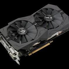 Placa video ASUS AMD Radeon RX 570, GDDR5 4GB, ROG-STRIX-RX570-O4G- GAMING, Engine Clock: 1310 MHz (OC Mode), 1300 MHz (Gaming Mode), Memory bulk