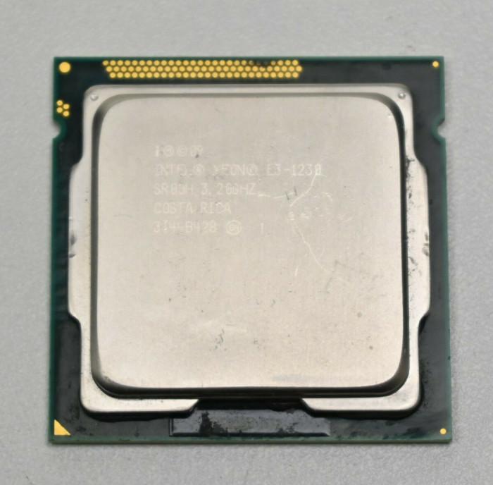 Procesor Xeon E3-1230 socket 1155 aproximativ acelasi lucru cu i7 2600