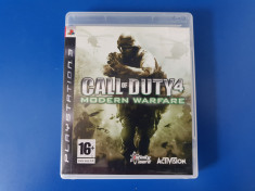 Call of Duty 4 Modern Warfare - joc PS3 (Playstation 3) foto