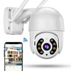 Camera Supraveghere WiFi Night Vision 50 Mt 1080P HD Pan Tilt H 265 -213