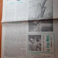 gazeta de vest 1 aprilie 1990-conflictul de la tg mures,interviu ion caramitru