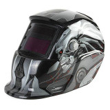 Masca de sudura cu cristale lichide Intensiv Transformers 9-13, DIN 16, protectie UV/IR, vizor 92 x 42 mm, incarcare solara