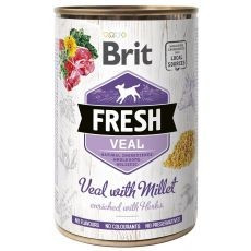 Can Brit Fresh Veal with Millet 400 g