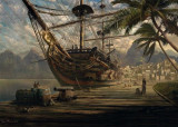Puzzle Schmidt - Ship at Ancor 1.000 piese (58183)