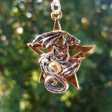 Pandantiv talisman Dracogram
