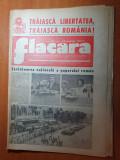 Flacara 25 august 1977-art. cu moartea lui elvis presley,defilarea din 23 august