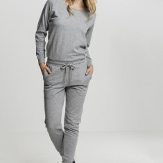 Ladies Long Sleeve Terry Jumpsuit