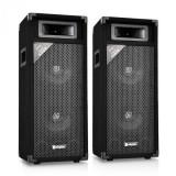 Skytec SM28, pereche de difuzoare PA 2x20cm 500W, cutie PA