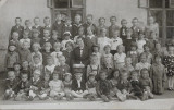 B249 Elevi scoala romaneasca din Banat 1939