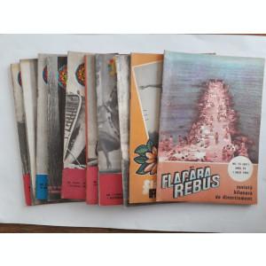 Lot 12 reviste REBUS FLACARA 1982 / C1 rev P