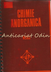 Chimie Anorganica. Metale - Gh. Macarovici foto