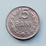 ROMANIA - 15 Bani 1975, Aluminiu