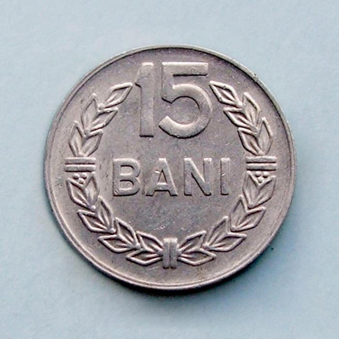 ROMANIA - 15 Bani 1975