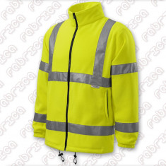 Jachetă fleece reflectorizantă