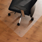 Suport de scaun pentru protectie podea, 100x140 cm, PVC transparent mat