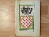 Culegere de exerciții și probleme de aritmetica/școala generală/colectiv/1970